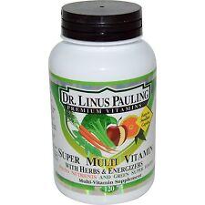 Dr. Linus Pauling Super Multi Vitamin with Herbs & Energisers - 120 Caplets