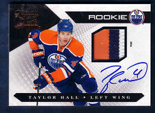 TAYLOR HALL 10/11 PANINI LUXURY SUITE ROOKIE 3C PATCH AUTO RC /199