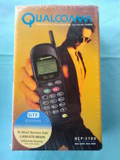Qualcomm QCP-2700 Vintage Cell Phone & Accessories - GTE - Sealed Retail Package