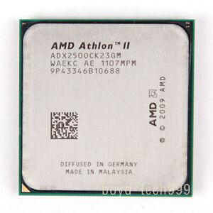 AMD Athlon II X2 250 CPU Processor ADX250OCK23GM 3 GHz 533 MHz Socket AM3