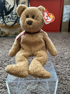 """TY BEANIE BABY """"CURLY"""" RETIRED W/ TAG ERRORS VERY RARE! Collectible 4052"""