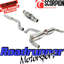 Clio RS 200 Scorpion Exhaust Stainless Sports Cat & Cat Back System Resonated