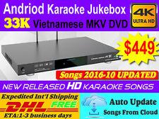 Android Karaoke Jukebox/Player,33K Pure Vietnamese MKV DVD Songs,2016-10 updated