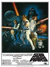 """STAR WARS MOVIE POSTER (1977) EPISODE IV A NEW HOPE CLASSIC GROUP 24""""x36"""" NEW"""