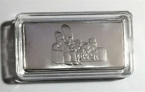10 Gram The Simpsons Collectors Ingot (Finished in 999 Fine Silver) Great Gift