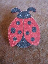 "Ladybug Collectible Clip Magnet Sugar like surface Large over 2"" Locker Fridge"