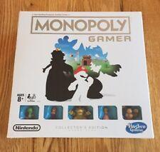 NINTENDO HASBRO MONOPOLY GAMER COLLECTORS EDITION