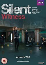 SILENT WITNESS Complete Season Series 19 Collection NEW DVD R4