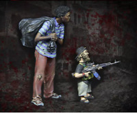 1 35 tuskmodel scale top model t3722 resin figurines set.