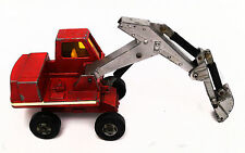 Matchbox Lesney Kingsize Diecast Hydraulic Excavator - Red - 1970