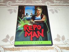 Repo Man (Widescreen DVD, 2004) Emilio Estevez, Region 1 USA DVD, RARE OOP HTF