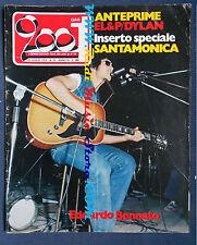 rivista CIAO 2001 30/1974 Bennato EL&P Bob Dylan John Denver Equipe 84  No cd
