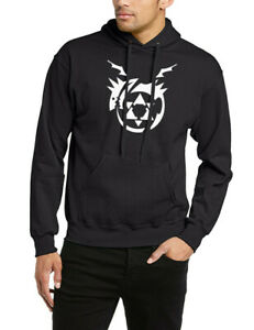 FMA Hoodie Fullmetal Alchemist Hoody Sweatshirt Sweater Jumper fleece Gift Cool