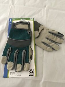 Expert Gardener Gender Neutral Green Grey XXL High Dexterity Performance Gloves