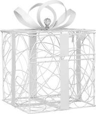 White Metal Wedding Card Box