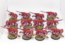 Termagants x 12-Painted Gaunts, warhammer 40K Tyranides Armée
