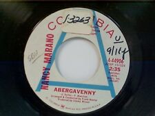 "NANCY MARANO ""ABERGAVENNY / LOVE SONG""  45 NEAR MINT PROMO"