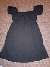 Para Mujer Vestido Negro De Maternidad Asos Talla 12