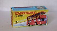 Repro Box Matchbox Superfast Nr.17 The Londoner