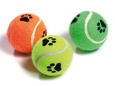 Karlie Tennisbälle mit Squeeker Tennisspielzeug für Hunde 6 cm farblich sortiert