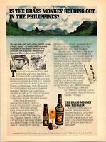 1944 VTG Orig Magazine Ad Paul Jones Liquor Fishing Better Luck Tommorrow