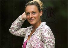 Ana Bogdan Sexy Tennis 5x7 PHOTO Signed Auto