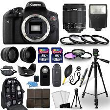 Canon Eos Rebel t6i Cámara Slr + 18-55mm Lente Stm + 30 Piezas Paquete De Accesorios