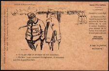 Hermann Paul. A bas la justice militaire. Leur discipline. Simili Japon. 1904