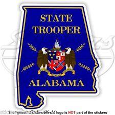 ALABAMA State Police, Highway Patrol Door Seal USA American Vinyl Sticker Decal