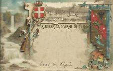 Regia Fabbrica d'Armi di Terni - Cartolina Militare - Viaggiata 1904