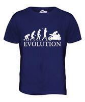 Courses de Moto Evolution de L'Homme T-Shirt Haut Cadeau Motard