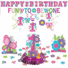 Sweet Birthday Girl 1st Birthday Party Hanging Decoration Pack Kit
