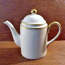 Fitz & Floyd PALAIS BUFF 5 Cup Coffee Pot MINT