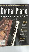 DIGITAL PIANO BUYER'S GUIDE 133 DIGITAL PIANOS COMPARED  MAGAZINE 2000 ED