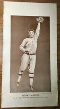 """1913 Baseball Magazine Premium M113 Sepia 10"""" x 20"""" Poster STUFFY McINNIS Champ"""