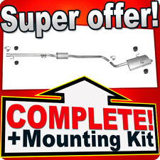 Rover 75 1.8 RJ 120HP Saloon 1999-2005 Silencer Exhaust System A84