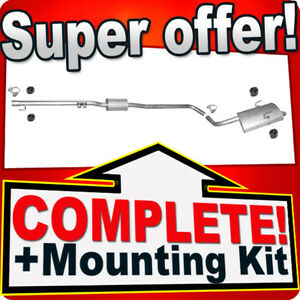 Silencer Exhaust System for Rover 75 1.8 RJ 120HP Saloon 1999-2005