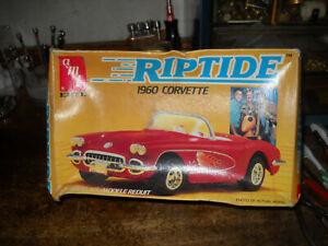RIPTIDE 1960 CORVETTE ERTL AMT #6621 1:25  MODEL KIT  NIB
