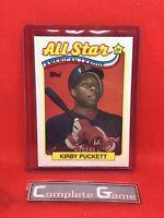 KIRBY PUCKETT MLB HOF 1989 TOPPS ALL STAR CARD #403 MINNESOTA TWINS Insert