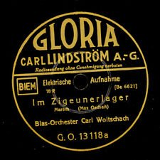 BLAS-ORCHESTER CARL WOITSCHACH  Im Zigeunerlager / Hoch Heidecksburg      S6250