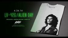 Alien Mondo Alamo T Shirt Men's Sigourney Weaver Limited Edition XXL XX-large