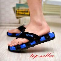 Mens summer sandals breathable beach Roman flip flops sandals flip flops shoes