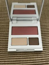 New Clinique Color Palette Eye Shadow Duo Butter Pecan & Sunset Glow Blush *