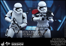 HOT TOYS STAR WARS FIRST ORDER STORMTROOPER OFFICER SET 2-PACK / SIXTH SCALE