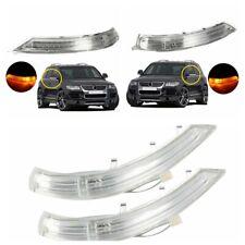 7L6949101/2C L&R Rear Mirror Turn Signal Light For VW Touareg 2007-11