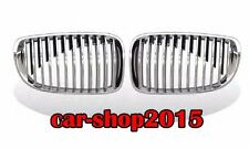 Front Kidney Grille For BMW 1 Series E81 E82 E87 E88 128i 135i Chrome/Black