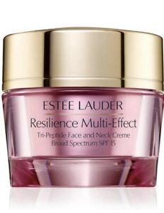 Estée Lauder Resilience MultiEffect SPF 15 TriPeptide Face&Neck Crème 1.7oz 50ml