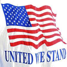 T-Shirt Mens L United We Stand US Flag