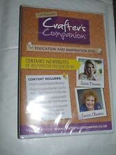 CRAFTER'S COMPANION With Sara Davies Leann Chivers  DVD NEW & SEALED