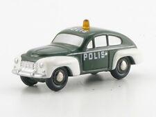 "Schuco Piccolo Volvo ""Polis"" schwedische Polizei # 50517200"